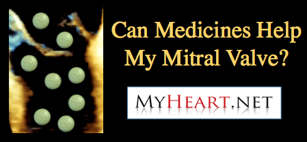 Medicine for mitral valve prolapse